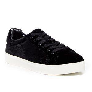Sam Edelman Circus Caprice Black Velvet Sneaker 8